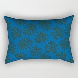 Rare Tropical Houseplant Philodendron Mayoi Rectangular Pillow