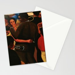 African American Masterpiece 'Swinging to the Blues' by Archibald Motley Stationery Cards