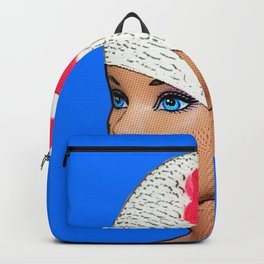 Vintage Swimmer! Cool Pop Art! Backpack