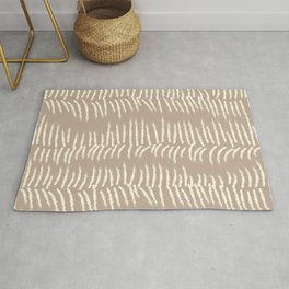 Go with the Flow - Lovely Brown Rug