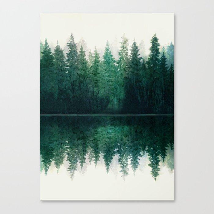 Reflection Leinwanddruck
