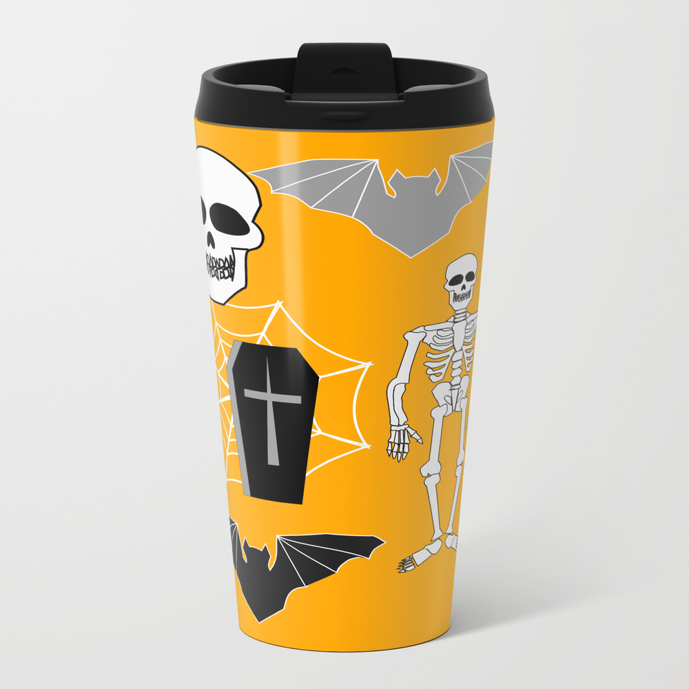 Halloween: Boo Crew Metal Travel Mug by Cocodes MTM7531437