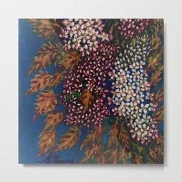 Blood Umbel Flowers by Seraphine Louis Metal Print
