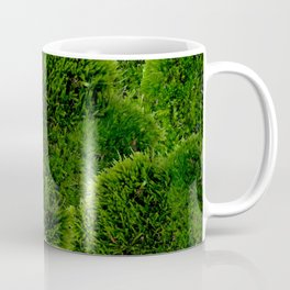 Moss - Green Luscious Mossy Texture - Full on Natural Moss Mounds- Earthy Greens -Turning Moss Green Coffee Mug