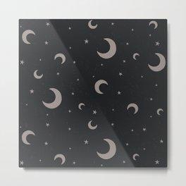 Moon Dark Metal Print