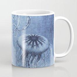 Blue Jellyfish Underwater Magic Coffee Mug