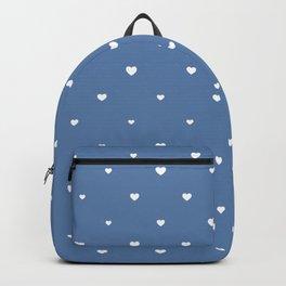 Hearts (Blue) Backpack