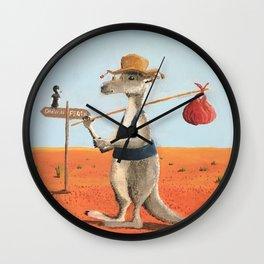 The Traveller Wall Clock