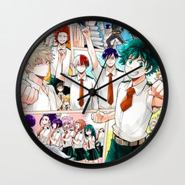 Class Hero Wall Clock