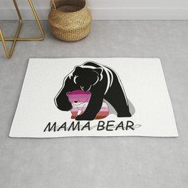 Mama Bear Lesbian Rug