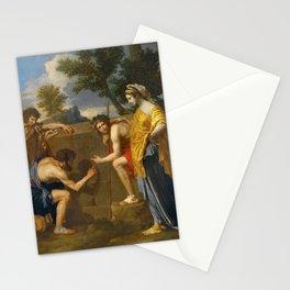 Nicolas Poussin - Et in Arcadia ego (deuxième version) Stationery Cards