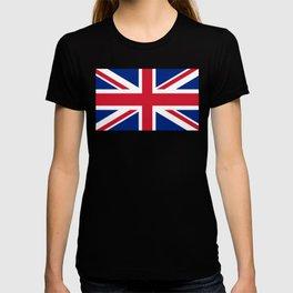 UK FLAG - Union Jack Authentic T-shirt