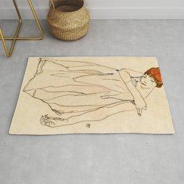 Egon Schiele - Dancer Rug