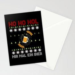 Ho Ho Hol Mir Mal A beer - Christmas Stationery Cards