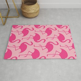 Barbie Flamingoes Rug
