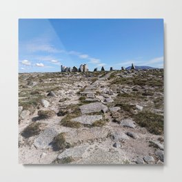 The Stone Circle  Metal Print