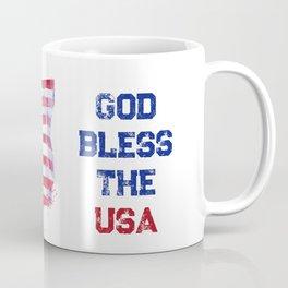 God Bless the USA Coffee Mug