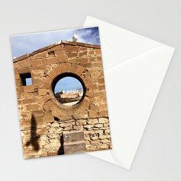 The Porthole, Essaouira, Morocco Stationery Cards
