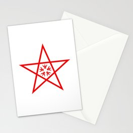 flag of nagasaki Stationery Cards