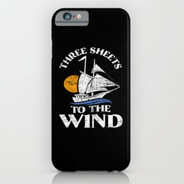 Sailing Sails iPhone Case