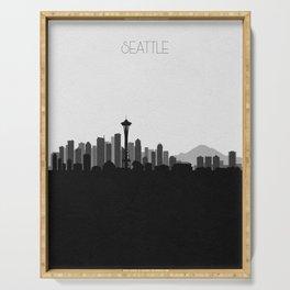 City Skylines: Seattle (Alternative) Serving Tray