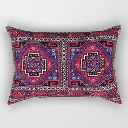 Shahsavan Mafrash Azerbaijan Northwest Persian Side Panel Print Rectangular Pillow