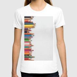 Colored pencil 10 T-shirt