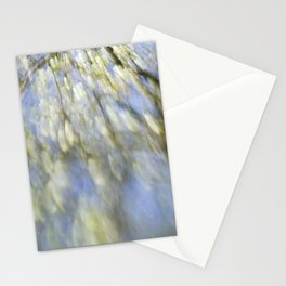 Spring blossom abstract Stationery Cards
