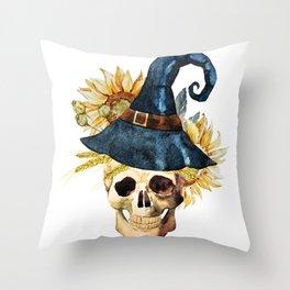 Skull 05 Throw Pillow