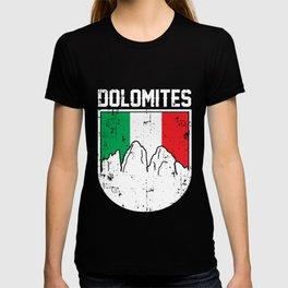 dolomites italy gift T-shirt