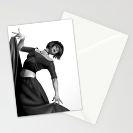 Dance pose Stationery Cards