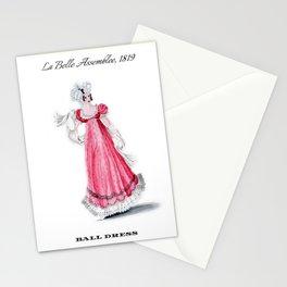 Fashion Plate 1819, Regency England Stationery Cards