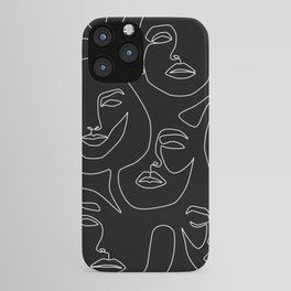 Faces in Dark iPhone Case