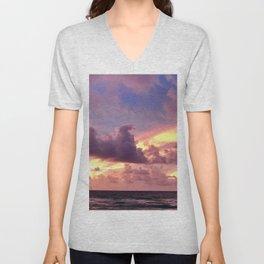 sunrise dyes Unisex V-Neck