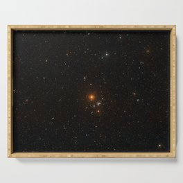 Hubble Space Telescope - The area around NGC 3314 Serving Tray
