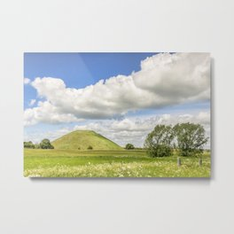 Silbury Hill, Wiltshire Metal Print