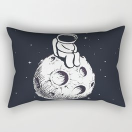 Sit Astronaut Rectangular Pillow