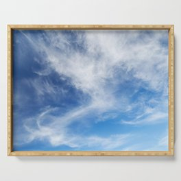 Cirrus Clouds 2 Serving Tray