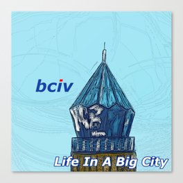Life In A Big City Canvas Print