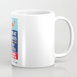 1937 Great Lakes Exposition Advertising Poster Coffee Mug