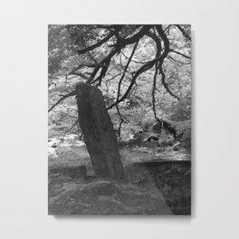 water stone Metal Print