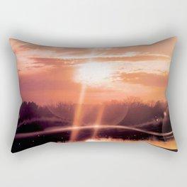 Orbs Rectangular Pillow