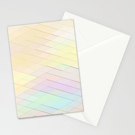 Re-Created Vertices No. 3 by Robert S. Lee Stationery Cards
