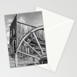 Ghost Town Bodie Wagon Wheel Eastern California Stationery Cards