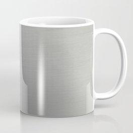 Brushed Metal Coffee Mug