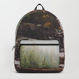 Fog Over Haystack Creek Backpack