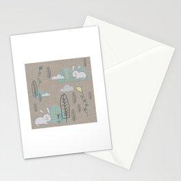 Cute Bunny woodland #nursery #homedecor Stationery Cards
