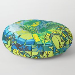 TUNNEL VISION Floor Pillow