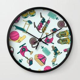 Workout Wall Clock