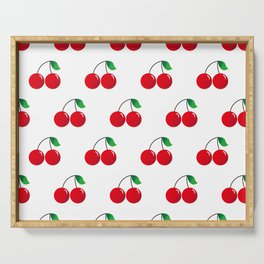 Cherry Pattern_b01 Serving Tray
